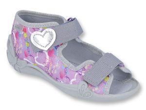 Sandały dziewczęce Papi Befado - 242P086